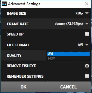 《GoPro Studio转换格式file format .MOV操作指南》